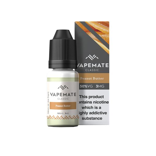 Vapemate Classic 3mg 10ml E-Liquid (70VG/30PG) Vaping Products 42
