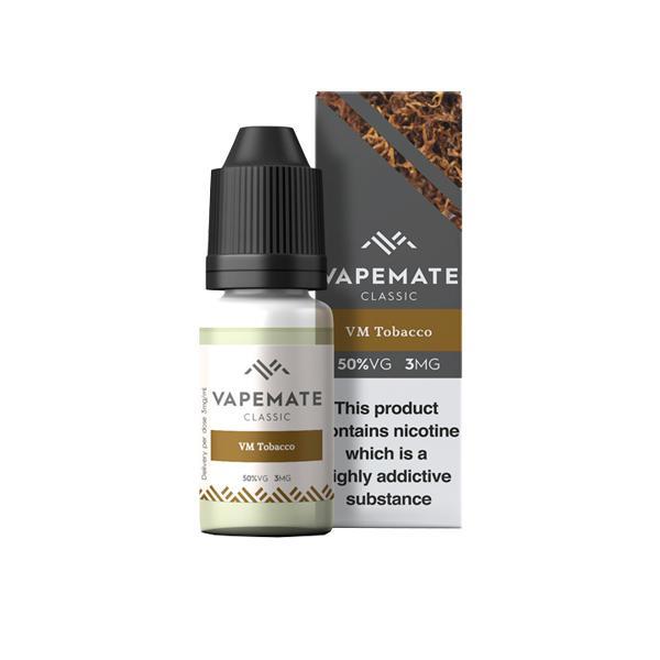 Vapemate Classic 3mg 10ml E-Liquid (70VG/30PG) Vaping Products 40