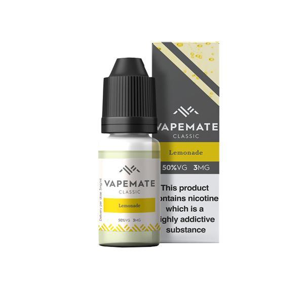 Vapemate Classic 3mg 10ml E-Liquid (70VG/30PG) Vaping Products 21
