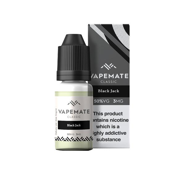 Vapemate Classic 3mg 10ml E-Liquid (70VG/30PG) Vaping Products 19