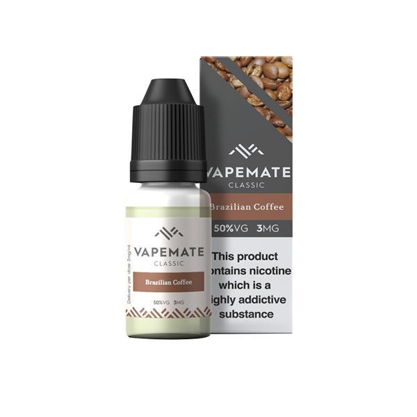Vapemate Classic 3mg 10ml E-Liquid (70VG/30PG) Vaping Products 18