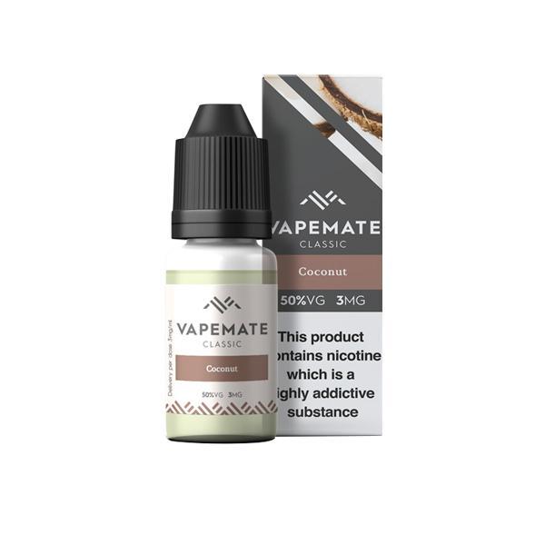Vapemate Classic 3mg 10ml E-Liquid (70VG/30PG) Vaping Products 17