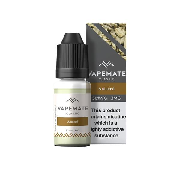 Vapemate Classic 3mg 10ml E-Liquid (70VG/30PG) Vaping Products 16