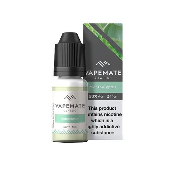 Vapemate Classic 3mg 10ml E-Liquid (70VG/30PG) Vaping Products 37
