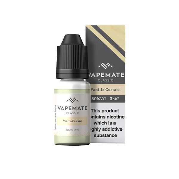 Vapemate Classic 3mg 10ml E-Liquid (70VG/30PG) Vaping Products 33