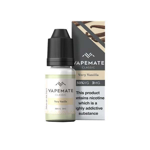 Vapemate Classic 3mg 10ml E-Liquid (70VG/30PG) Vaping Products 46