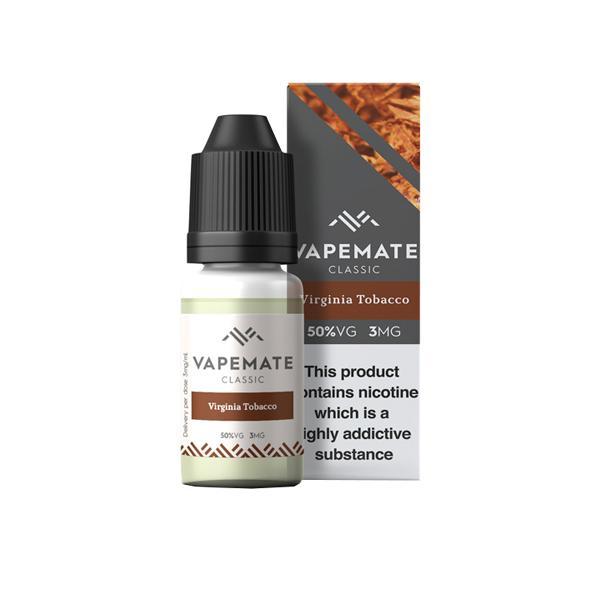Vapemate Classic 3mg 10ml E-Liquid (70VG/30PG) Vaping Products 43