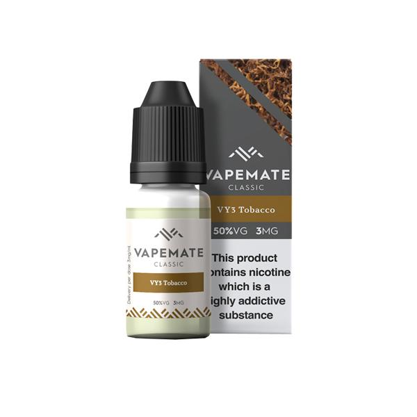 Vapemate Classic 3mg 10ml E-Liquid (70VG/30PG) Vaping Products 36