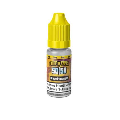 """<a href=""""https://wvvapes.co.uk/chief-of-vapes-3mg-10ml-e-liquids-50vg-50pg"""">Chief of Vapes 3mg 10ML E-Liquids (50VG/50PG)</a> Vaping Products"""