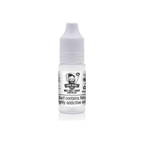 "<a href=""https://wvvapes.co.uk/20mg-nic-salt-shot-10ml-by-von-duke-50vg-50pg"">20mg Nic Salt Shot 10ml By Von Duke (50VG-50PG)</a> Nic Shots & Salts"