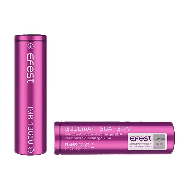 Efest 18650 3000mAh 35A Battery Vaping Products 2