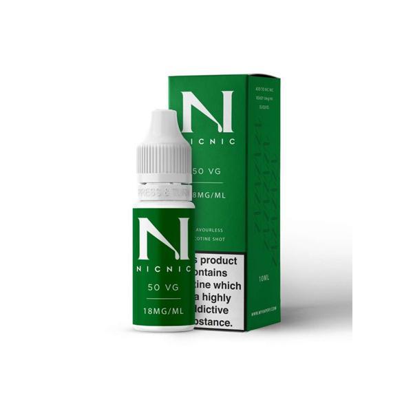 18mg Nic Nic Flavourless Nicotine Shot 10ml 50VG Vaping Products 2