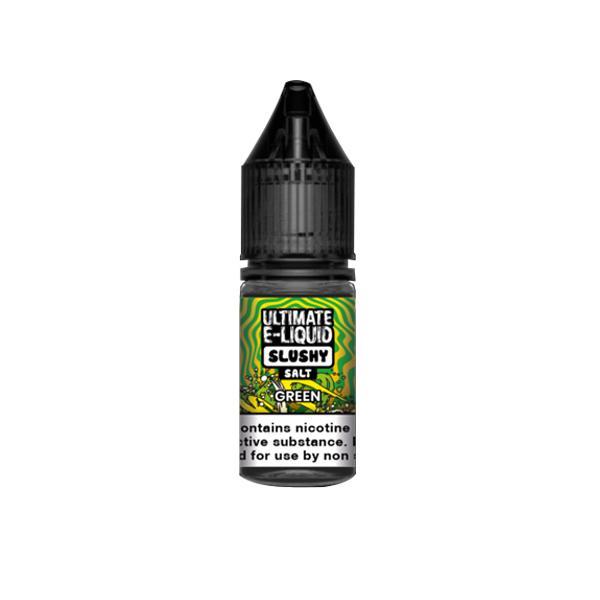 10mg Ultimate E-liquid Slushy Nic Salts 10ml (50VG/50PG) Vaping Products 7