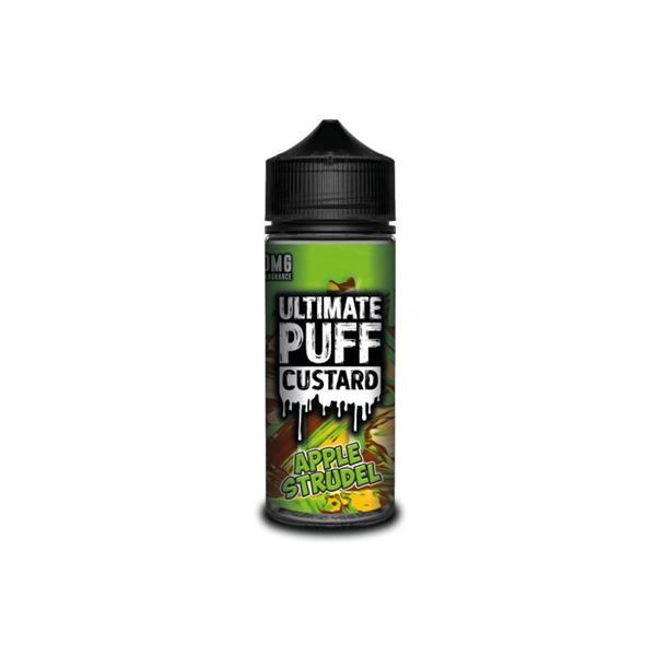 Ultimate Puff Custard 0mg 100ml Shortfill (70VG/30PG) 100ml Shortfills 2