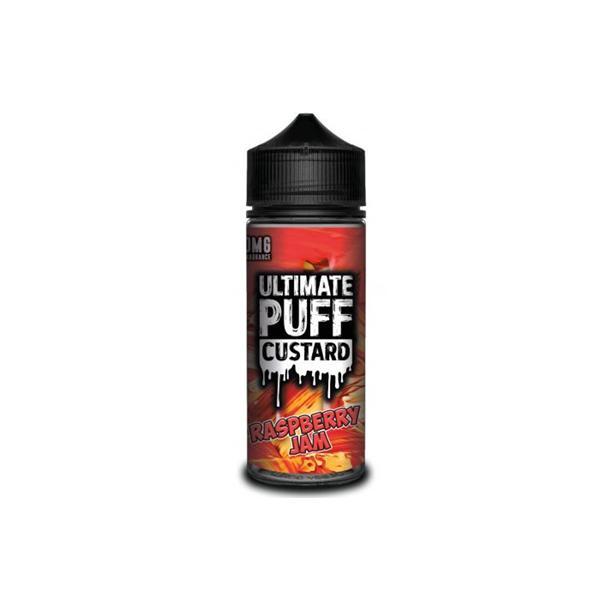Ultimate Puff Custard 0mg 100ml Shortfill (70VG/30PG) 100ml Shortfills 5
