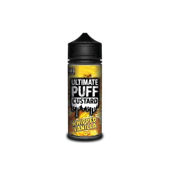 Ultimate Puff Custard 0mg 100ml Shortfill (70VG/30PG) 100ml Shortfills 6