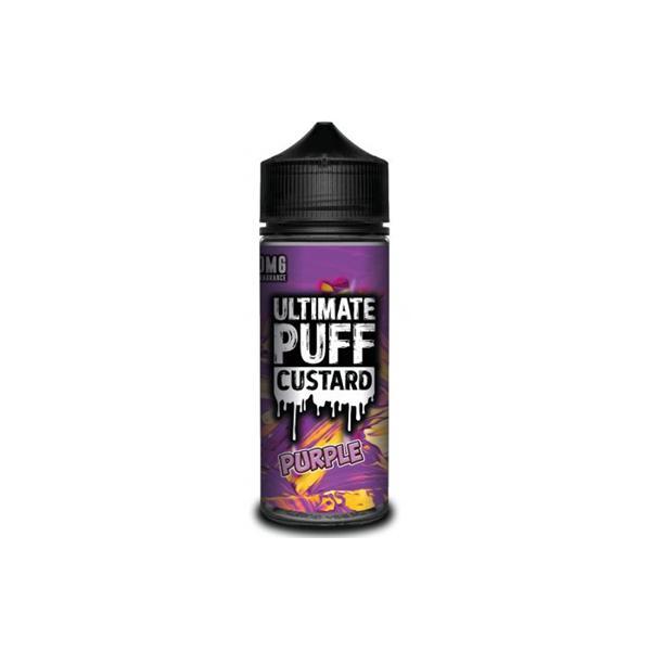 Ultimate Puff Custard 0mg 100ml Shortfill (70VG/30PG) 100ml Shortfills 4