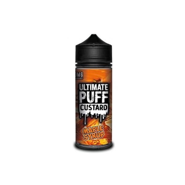 Ultimate Puff Custard 0mg 100ml Shortfill (70VG/30PG) 100ml Shortfills 8