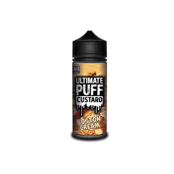 Ultimate Puff Custard 0mg 100ml Shortfill (70VG/30PG) 100ml Shortfills 7