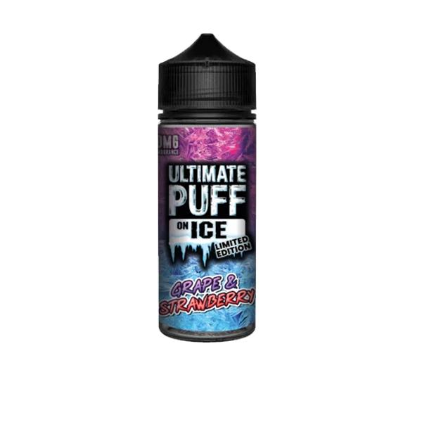 Ultimate Puff On Ice 0mg 100ml Shortfill (70VG/30PG) 100ml Shortfills 3