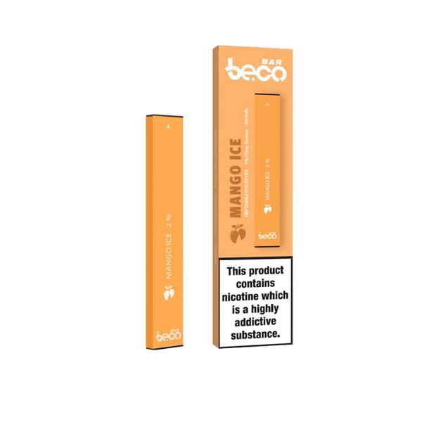10mg Vaptio Beco Bar Disposable Vape Pod Disposable Vapes 12