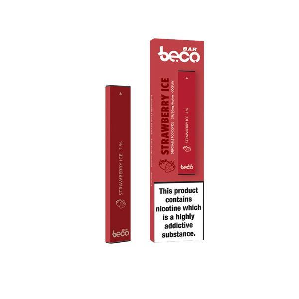 20mg Vaptio Beco Bar Disposable Vape Pod Disposable Vapes 5