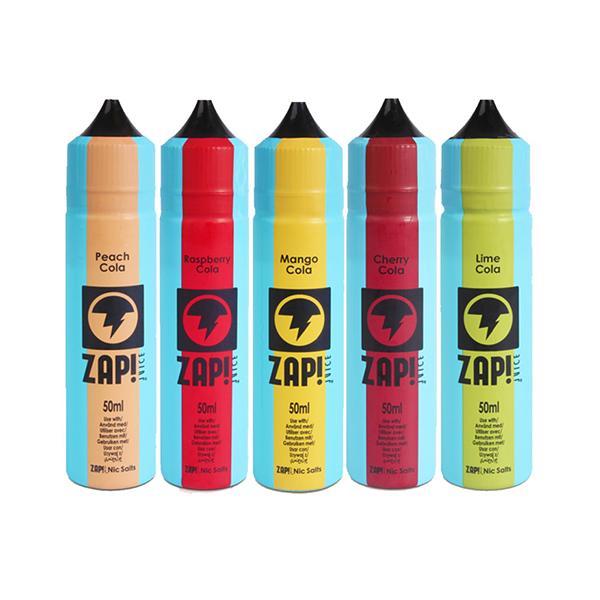 Zap! Juice Vintage Cola 0mg 50ml Shortfill (Free ZAP 18mg Nic Salt) 50ml Shortfills 2