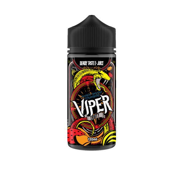 Viper Deadly Tastee E-Liquid 100ml Shortfill 0mg (70VG/30PG) 100ml Shortfills 6