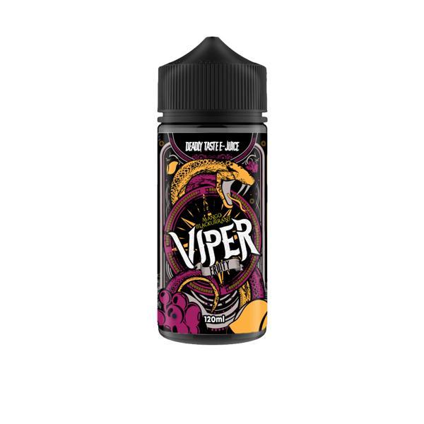 Viper Deadly Tastee E-Liquid 100ml Shortfill 0mg (70VG/30PG) 100ml Shortfills 8