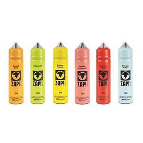 """<a href=""""https://wvvapes.co.uk/zap-juice-0mg-50ml-shortfill-free-zap-18mg-nic-salt"""">Zap! Juice 0mg 50ml Shortfill (Free ZAP 18mg Nic Salt)</a> 50ml Shortfills"""