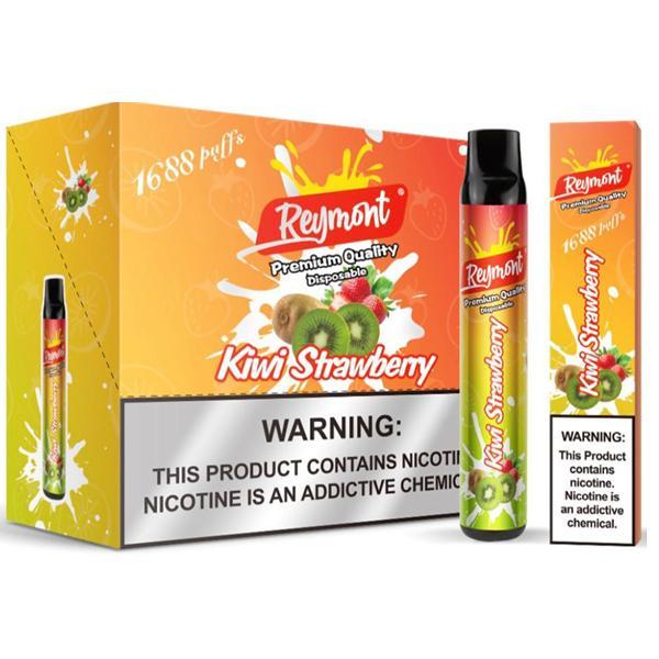 20mg Reymont Premium Quality Disposable Vape Pod 1688 Puffs 3 for £18 - Disposable Vapes 9