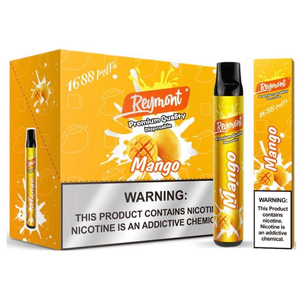 20mg Reymont Premium Quality Disposable Vape Pod 1688 Puffs 3 for £18 - Disposable Vapes 12
