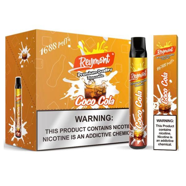 20mg Reymont Premium Quality Disposable Vape Pod 1688 Puffs 3 for £18 - Disposable Vapes 6