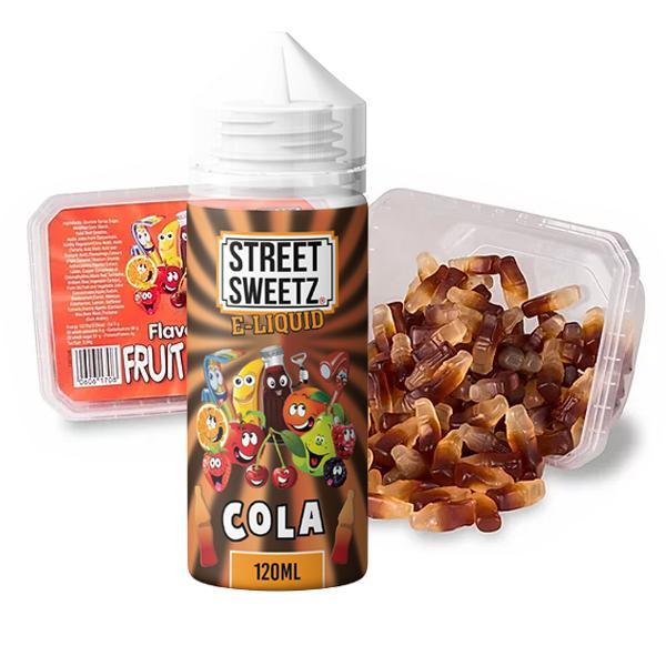 Street Sweetz 0mg 100ml Shortfill + 210g Jelly Sweets Combo 100ml Shortfills 4