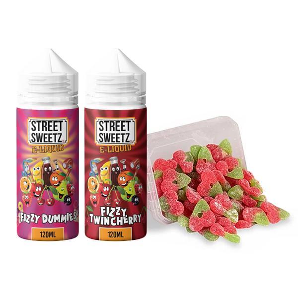 Street Sweetz 0mg 100ml Shortfill + 210g Jelly Sweets Combo 100ml Shortfills 3