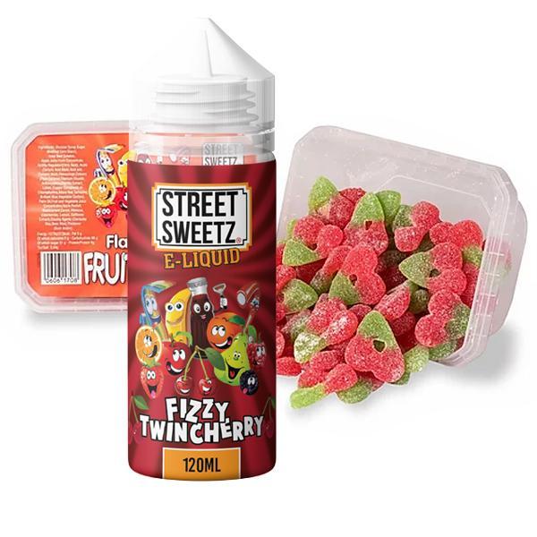 Street Sweetz 0mg 100ml Shortfill + 210g Jelly Sweets Combo 100ml Shortfills 6