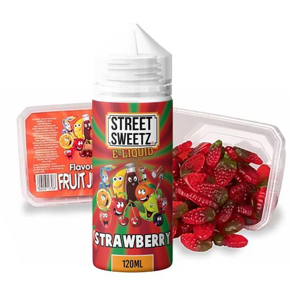 Street Sweetz 0mg 100ml Shortfill + 210g Jelly Sweets Combo 100ml Shortfills 2