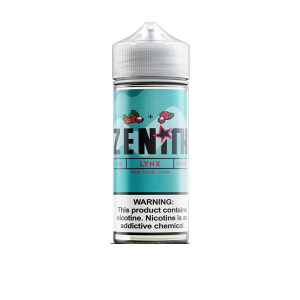 Zenith 100ml Shortfill 0mg (70VG/30PG) 100ml Shortfills 5