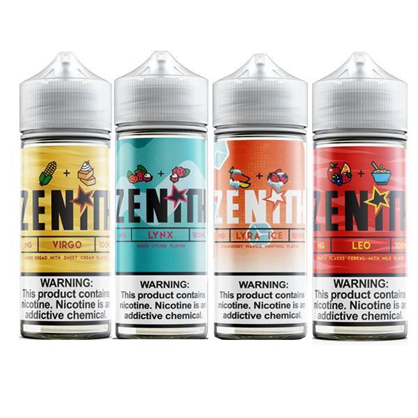 Zenith 100ml Shortfill 0mg (70VG/30PG) 100ml Shortfills 6