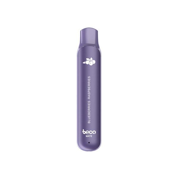 20mg Vaptio Beco Mate Disposable Vape Pod 550 Puffs 3 for £10 - Disposable Vapes 2