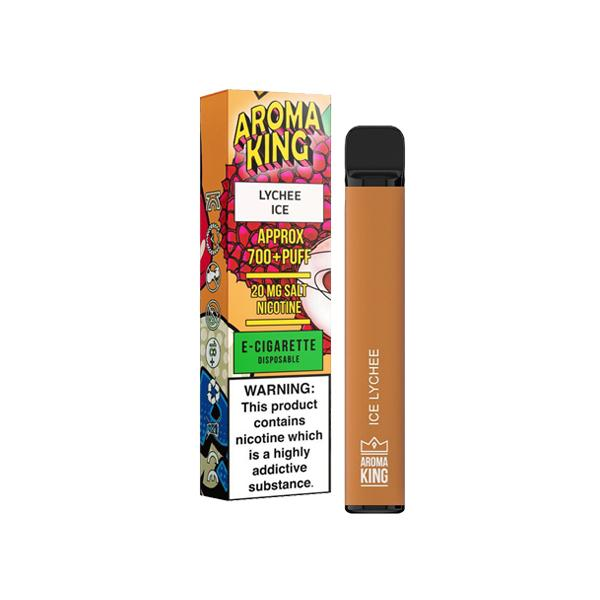 20mg Aroma King Disposable Vape Pod 700 Puffs 3 for £10 - Disposable Vapes 3