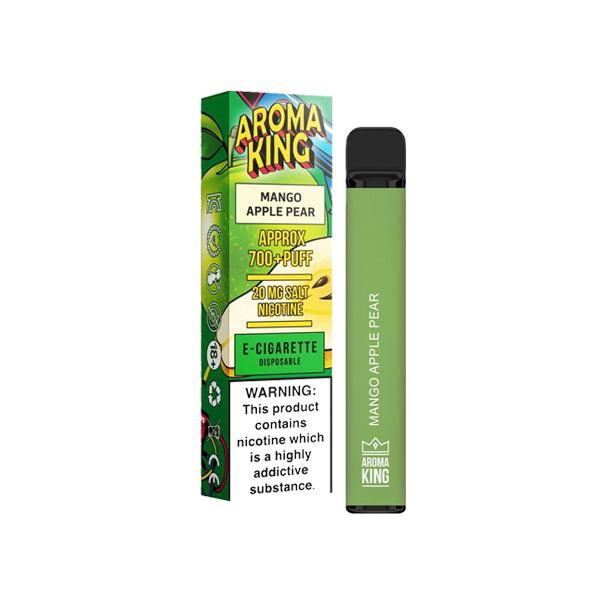 20mg Aroma King Disposable Vape Pod 700 Puffs 3 for £10 - Disposable Vapes 4