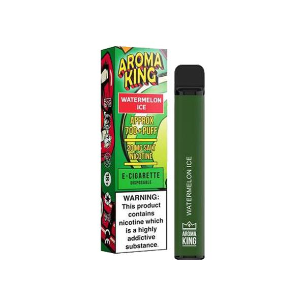 20mg Aroma King Disposable Vape Pod 700 Puffs 3 for £10 - Disposable Vapes 12