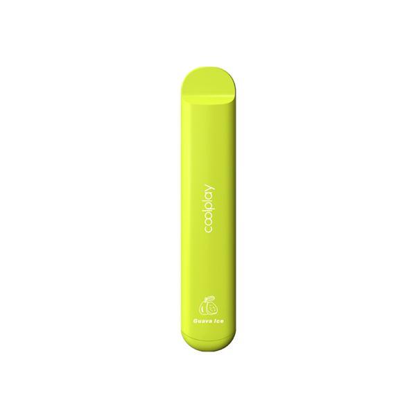 20mg Coolplay X15 Disposable Vape Pod 575 Puffs 500+ Puffs Disposables 10