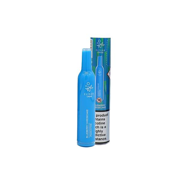 20mg Elf Bar CR500 Disposable Vape Pod 500 Puffs 3 for £10 - Disposable Vapes 13
