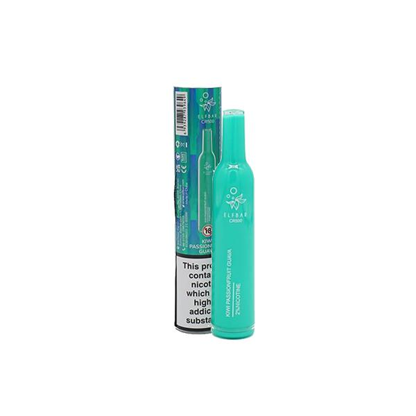 20mg Elf Bar CR500 Disposable Vape Pod 500 Puffs 3 for £10 - Disposable Vapes 12
