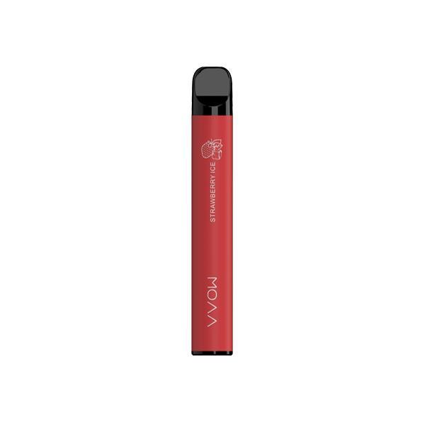 Smok 20mg VVOW Bar Disposable Vape Pod 500 Puffs 3 for £10 - Disposable Vapes 2