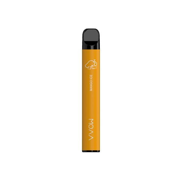 Smok 20mg VVOW Bar Disposable Vape Pod 500 Puffs 3 for £10 - Disposable Vapes 15