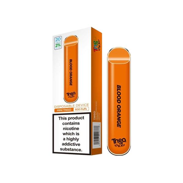 20mg TNGO Ice Blast Disposable Vape Pod 600 Puffs 3 for £14 - Disposable Vapes 5