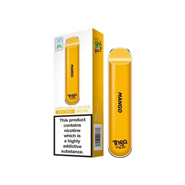 20mg TNGO Ice Blast Disposable Vape Pod 600 Puffs 3 for £14 - Disposable Vapes 12
